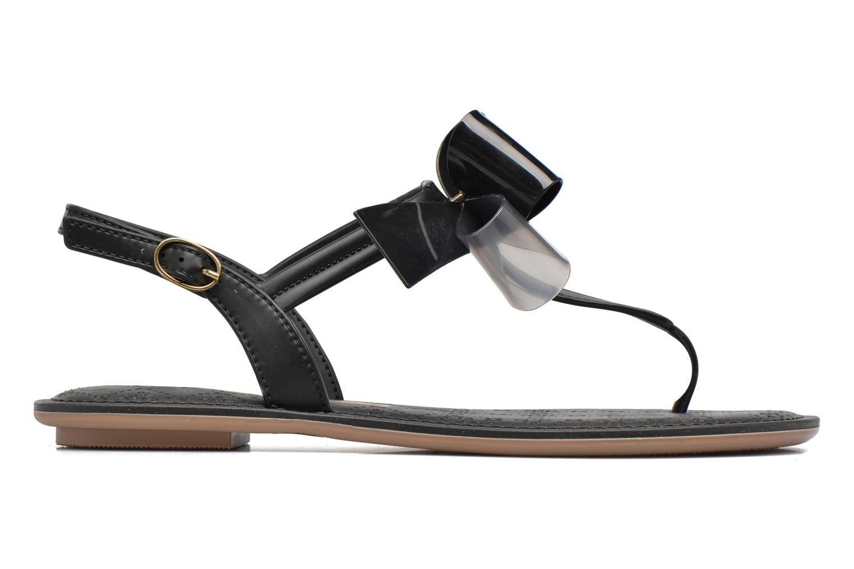 Sandals Grendha Sense sandal fem Brown back view