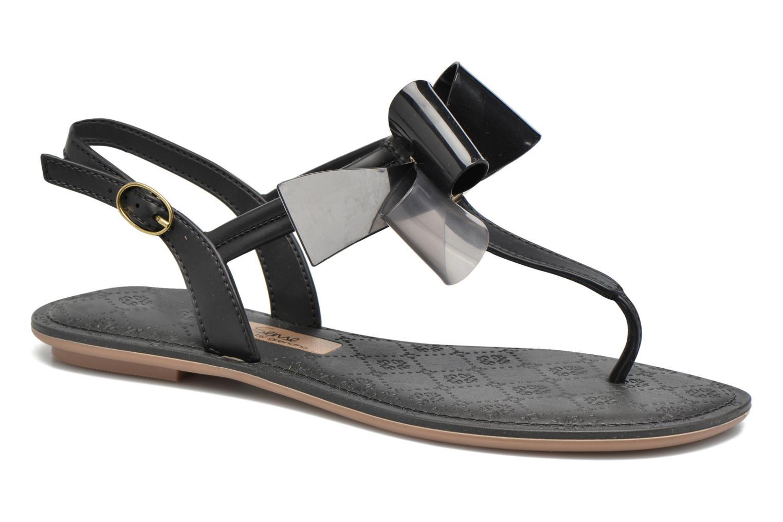 Sandals Grendha Sense sandal fem Brown detailed view/ Pair view
