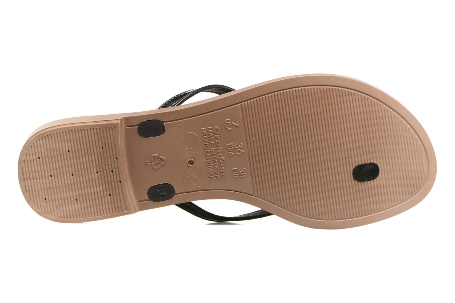 Flip flops Grendha Paixao Thong Black view from above
