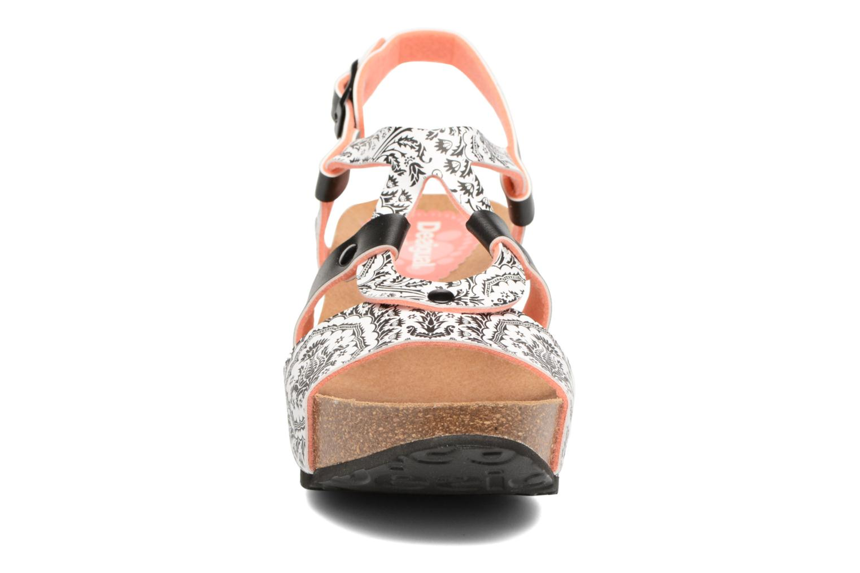 Sandales et nu-pieds Desigual SHOES_BIO 9 Multicolore vue portées chaussures