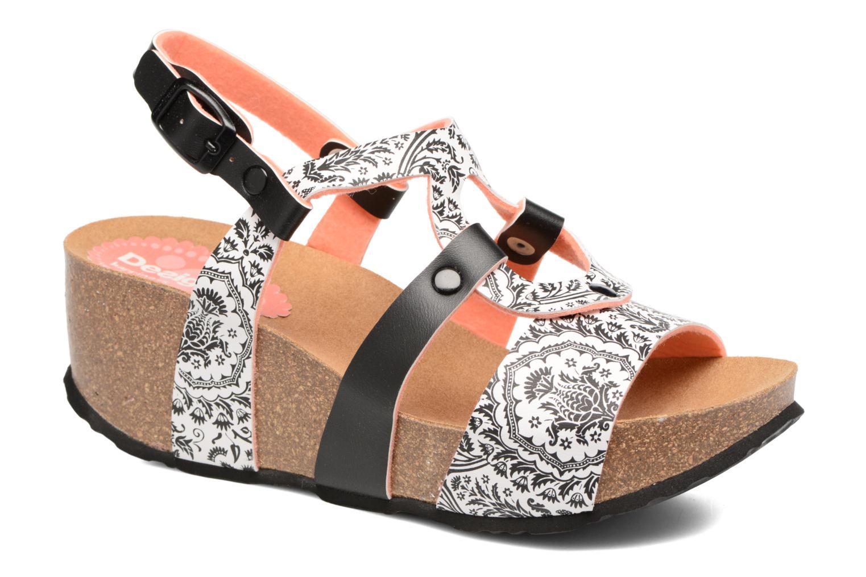 Sandales et nu-pieds Desigual SHOES_BIO 9 Multicolore vue détail/paire