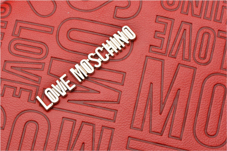 Embossed logo Cabas Rosso