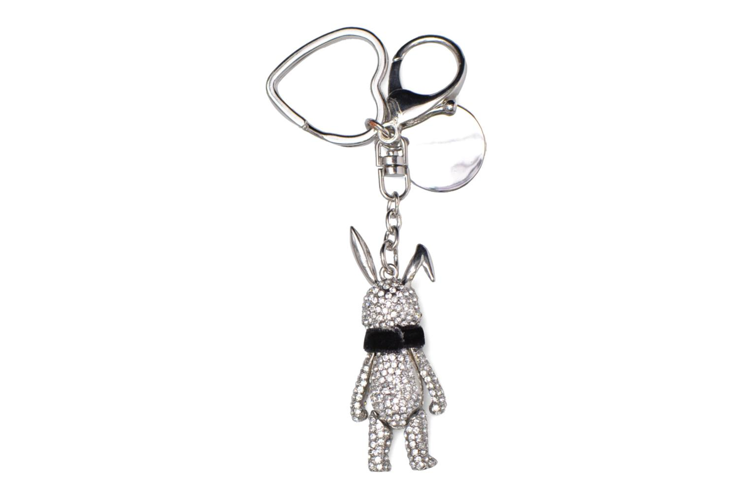 Divers Love Moschino Keyholders Bunny Argent vue portées chaussures