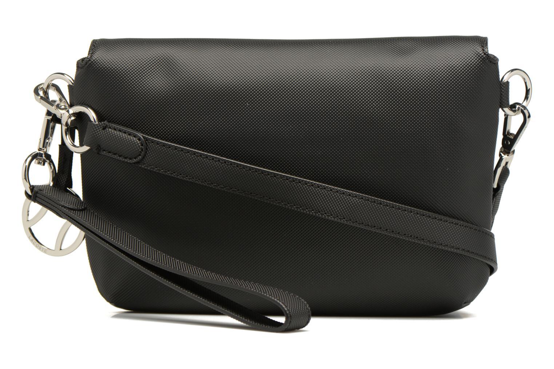 Sacs à main Lacoste Daily Classic Crossover bag S Noir vue face