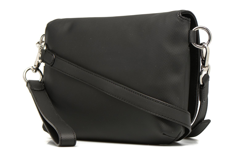 Sacs à main Lacoste Daily Classic Crossover bag S Noir vue droite