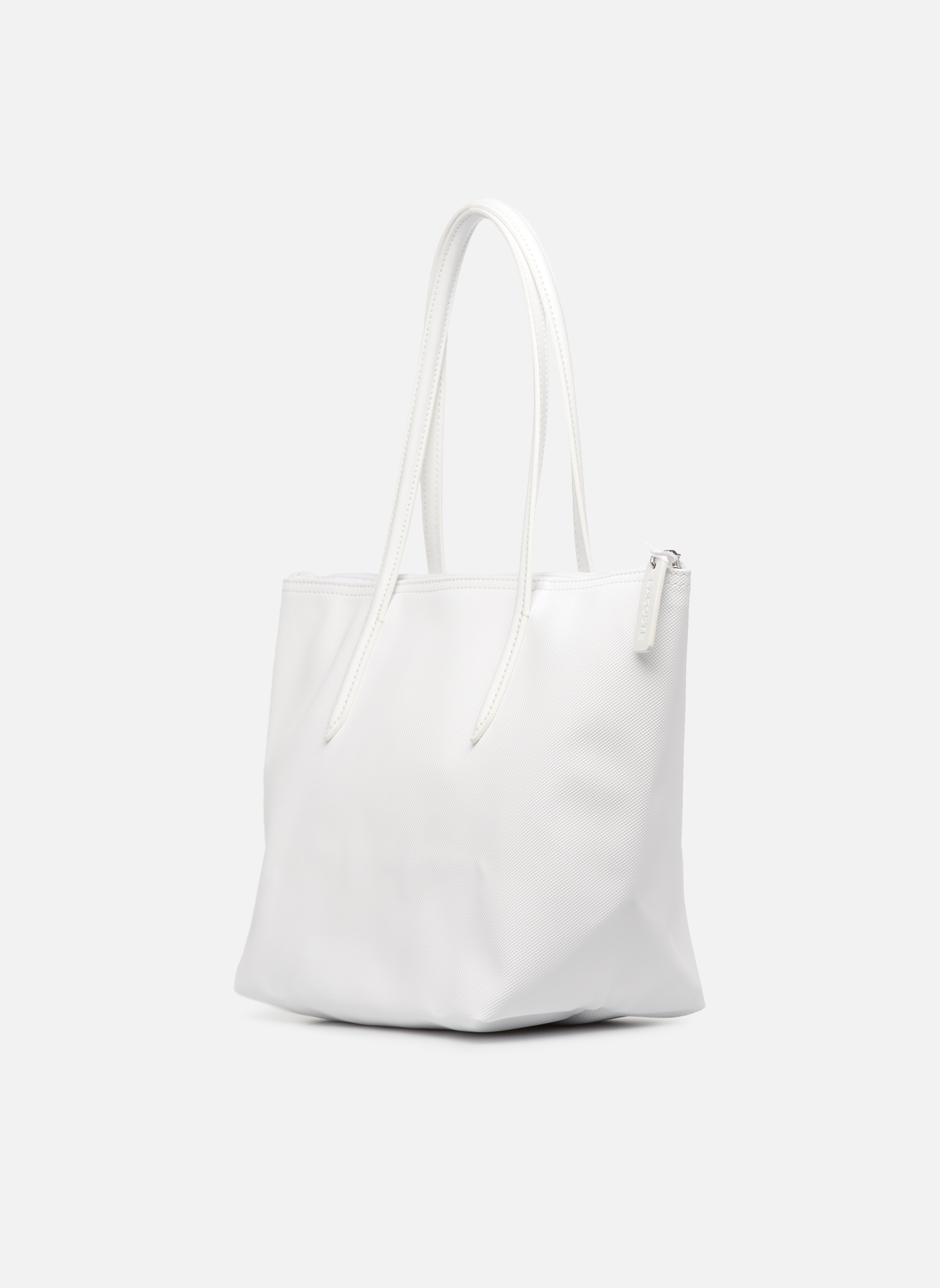 S SHOPPING BAG Bright white