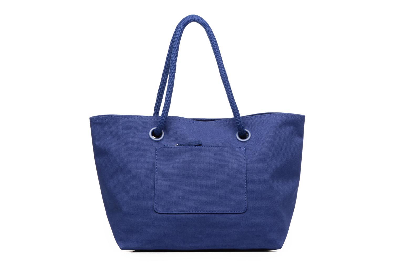 Sacs à main Lacoste Summer Shopping bag L Bleu vue face