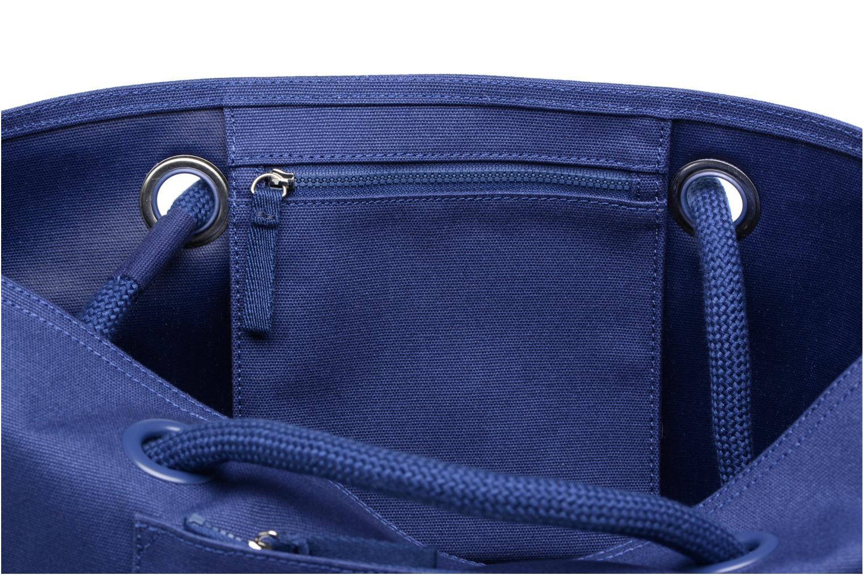 Sacs à main Lacoste Summer Shopping bag L Bleu vue derrière