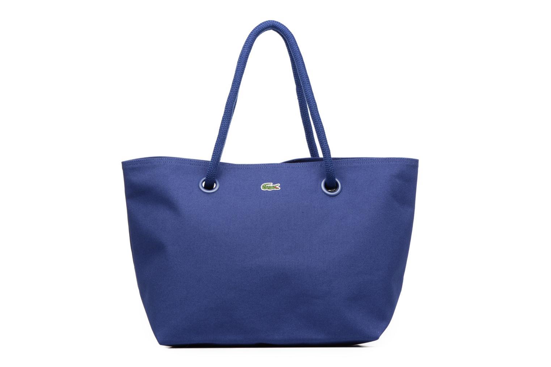 Sacs à main Lacoste Summer Shopping bag L Bleu vue détail/paire