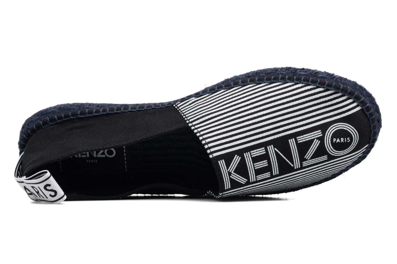 Espadrilles Kenzo Stanley Noir vue gauche