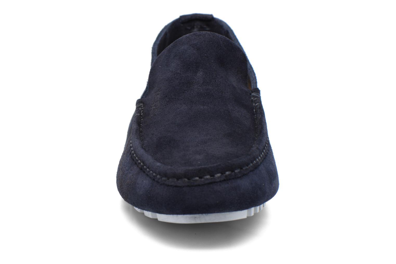 Mocassins Kenzo Lane Bleu vue portées chaussures
