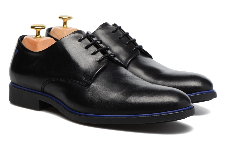 Chaussures à lacets Kenzo Walt Noir vue 3/4
