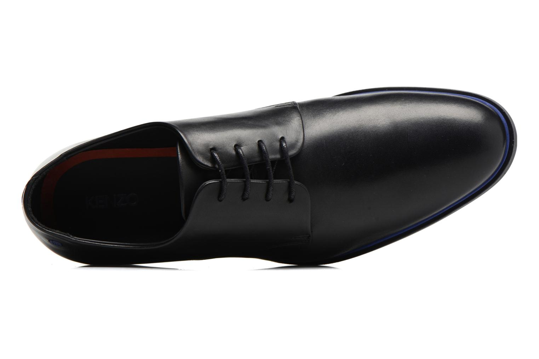 Chaussures à lacets Kenzo Walt Noir vue gauche