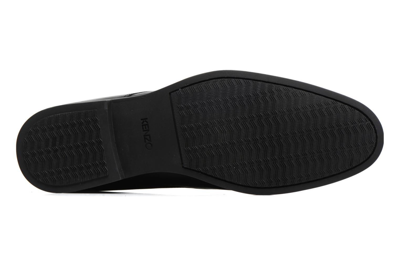 Chaussures à lacets Kenzo Walt Noir vue haut