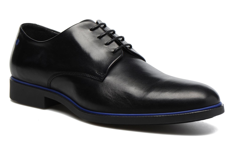 Chaussures à lacets Kenzo Walt Noir vue détail/paire