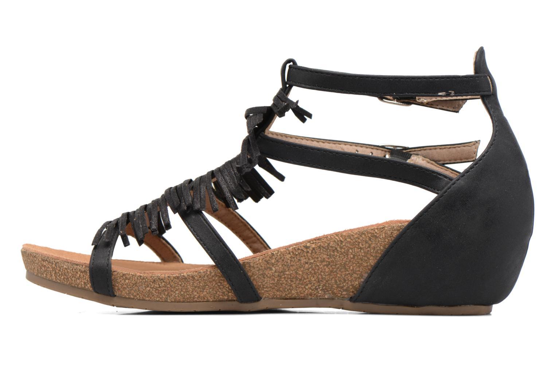 Sandales et nu-pieds Xti Bama 46557 Noir vue face
