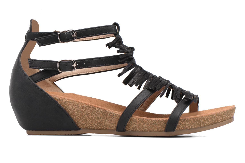 Sandales et nu-pieds Xti Bama 46557 Noir vue derrière