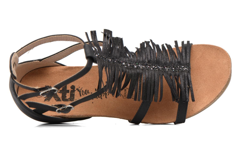 Sandales et nu-pieds Xti Bama 46557 Noir vue gauche