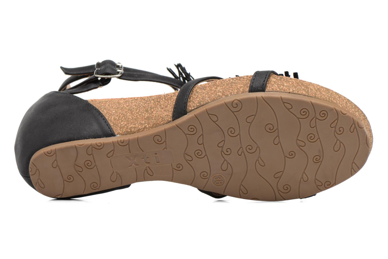 Sandales et nu-pieds Xti Bama 46557 Noir vue haut