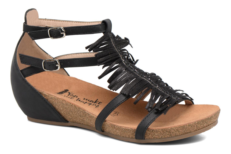 Sandales et nu-pieds Xti Bama 46557 Noir vue détail/paire