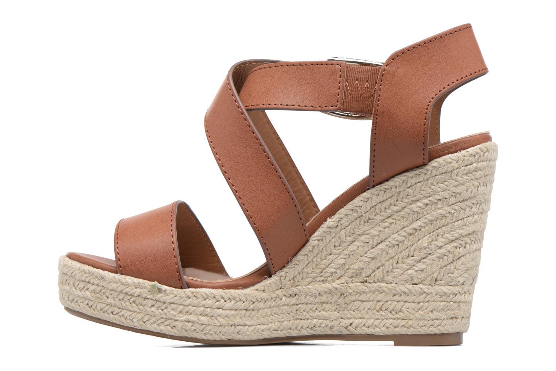Sandales et nu-pieds Xti Esthy 33489 Marron vue face
