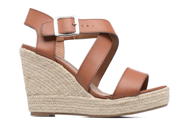 Sandales et nu-pieds Xti Esthy 33489 Marron vue derrière