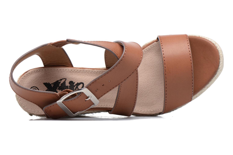 Sandales et nu-pieds Xti Esthy 33489 Marron vue gauche