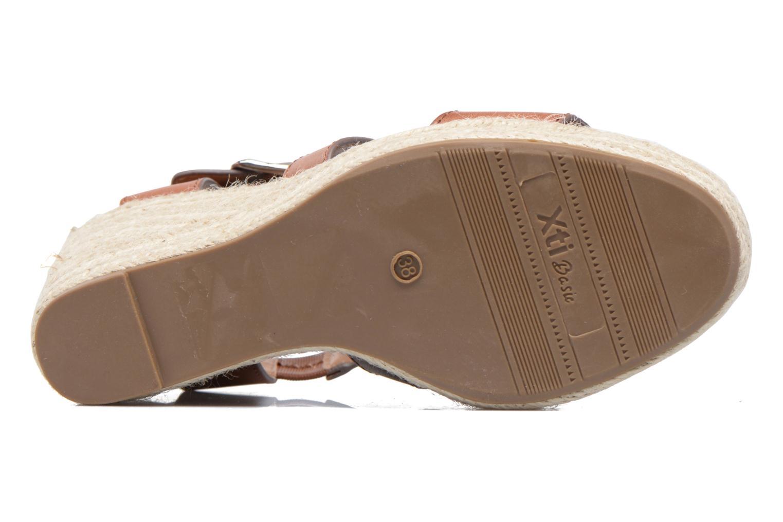 Sandales et nu-pieds Xti Esthy 33489 Marron vue haut