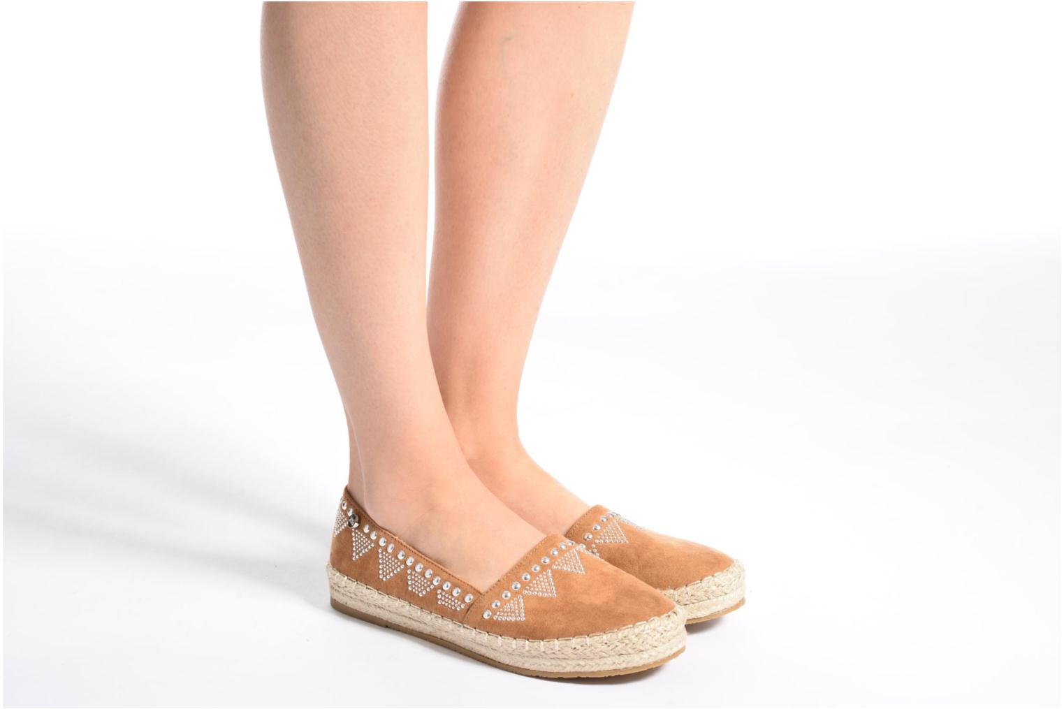 Espadrilles Xti Kaldé 46907 Brown view from underneath / model view