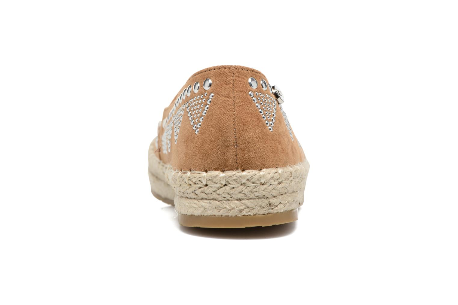 Espadrilles Xti Kaldé 46907 Brown view from the right