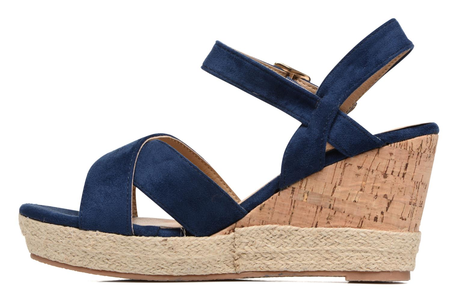 Sandals Xti Issum 33450 Blue front view