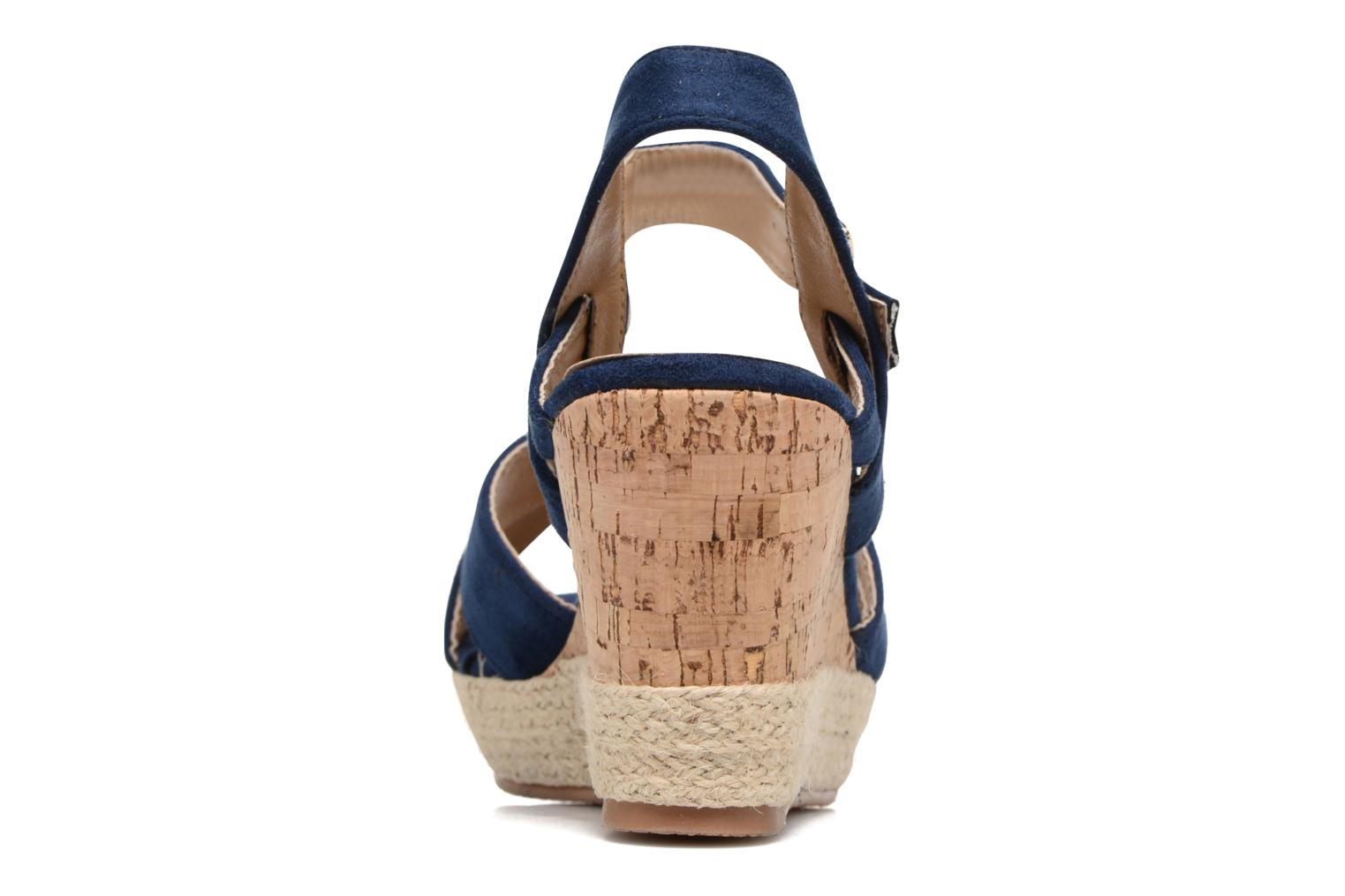 Sandals Xti Issum 33450 Blue view from the right