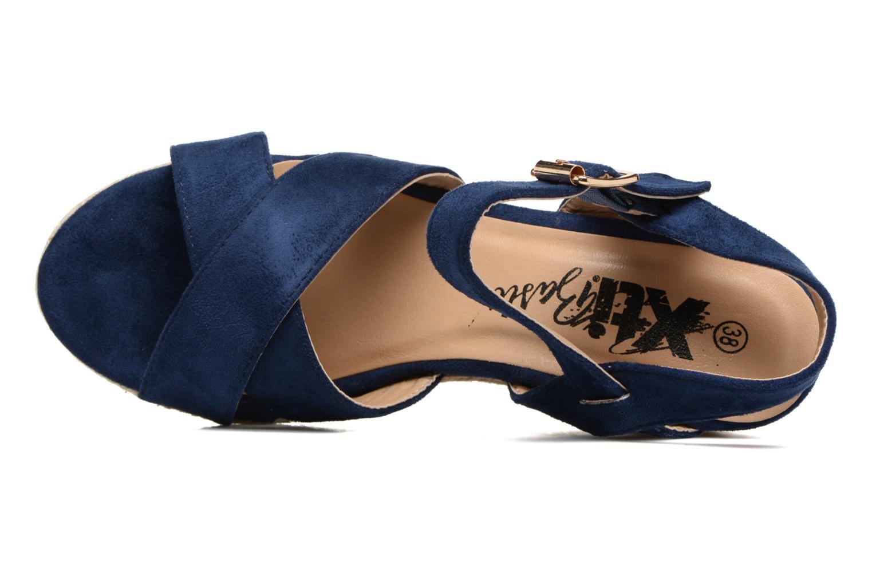 Sandalias Xti Issum 33450 Azul vista lateral izquierda