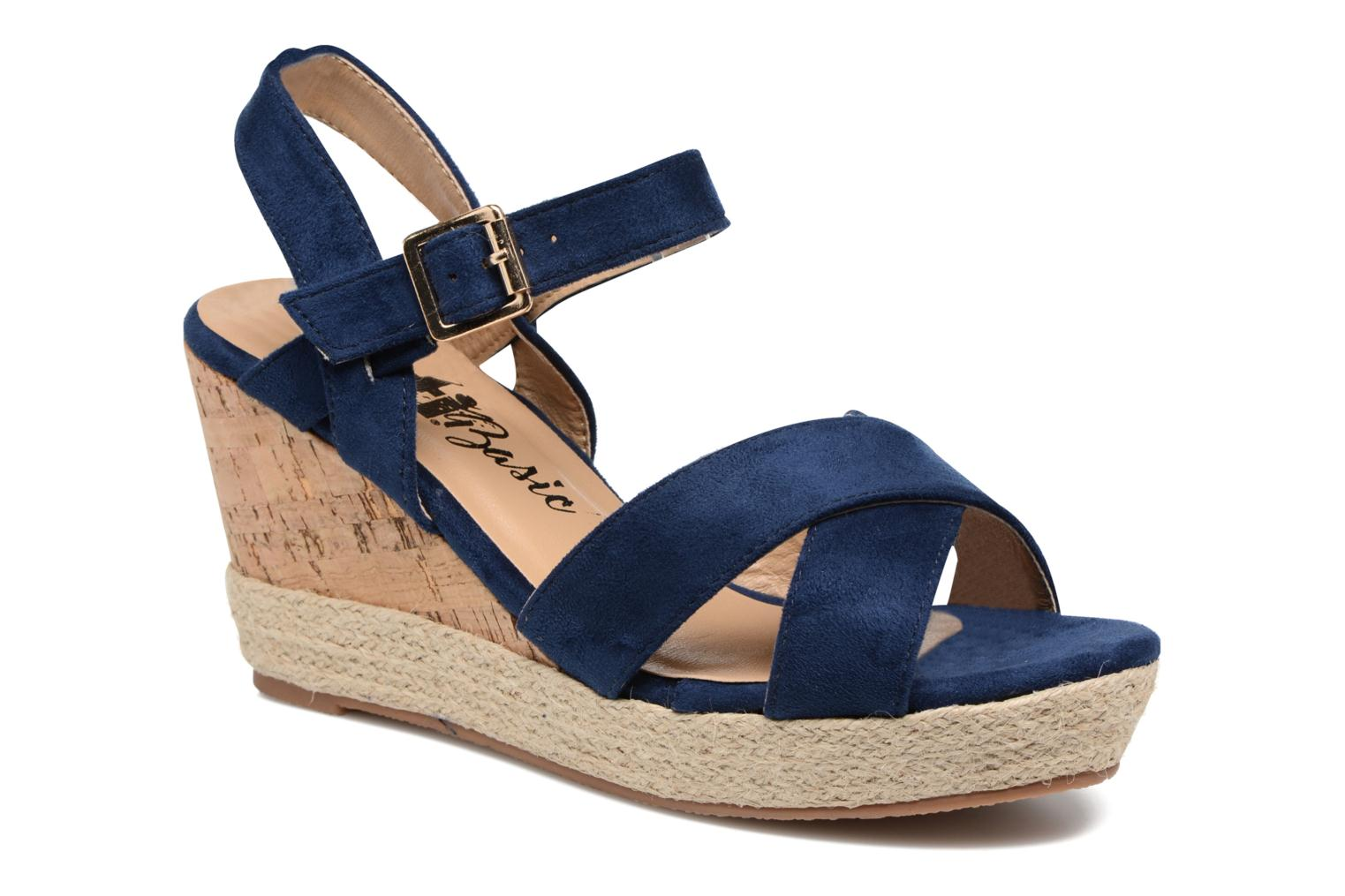 Sandals Xti Issum 33450 Blue detailed view/ Pair view
