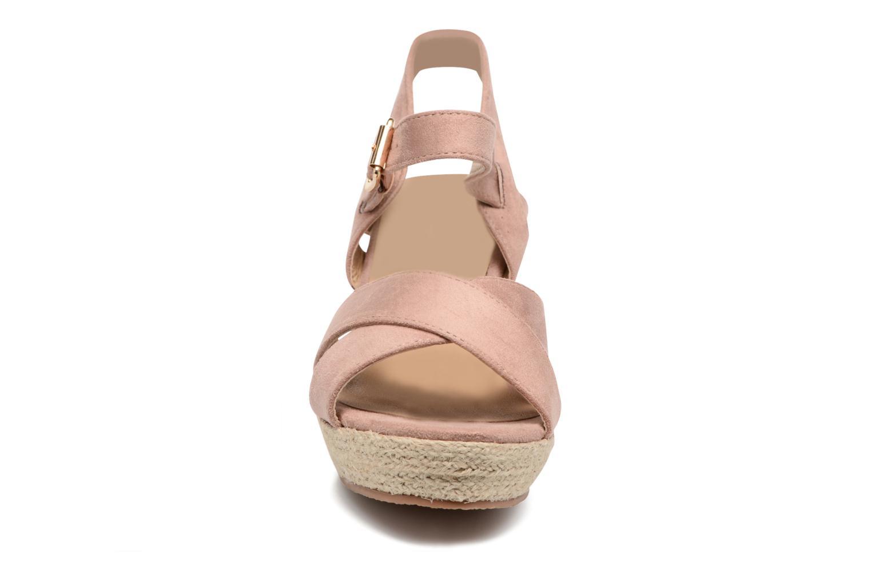 Sandales et nu-pieds Xti Issum 33450 Rose vue portées chaussures