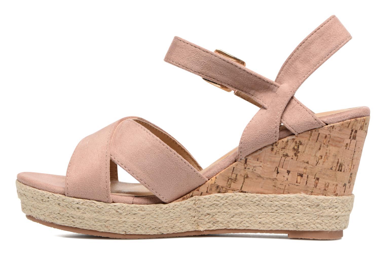Sandales et nu-pieds Xti Issum 33450 Rose vue face
