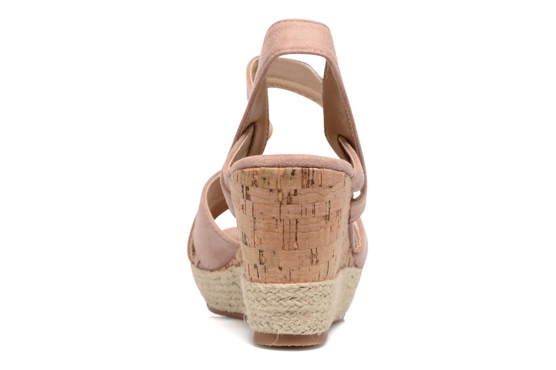 Sandales et nu-pieds Xti Issum 33450 Rose vue droite