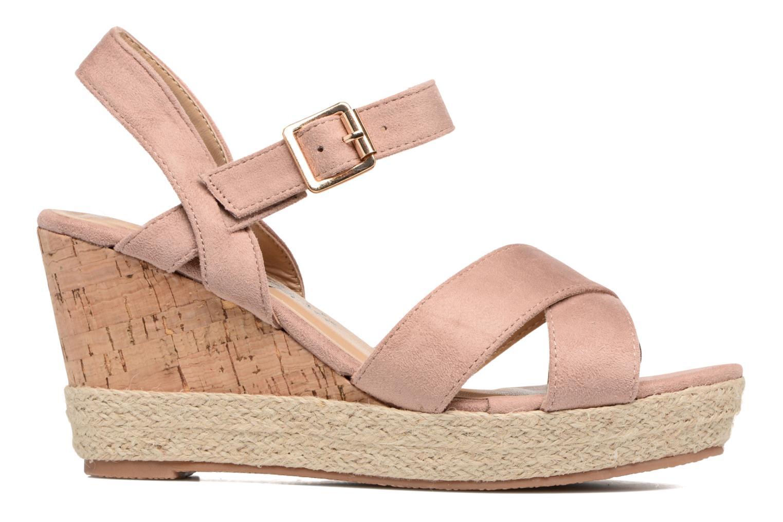 Sandales et nu-pieds Xti Issum 33450 Rose vue derrière