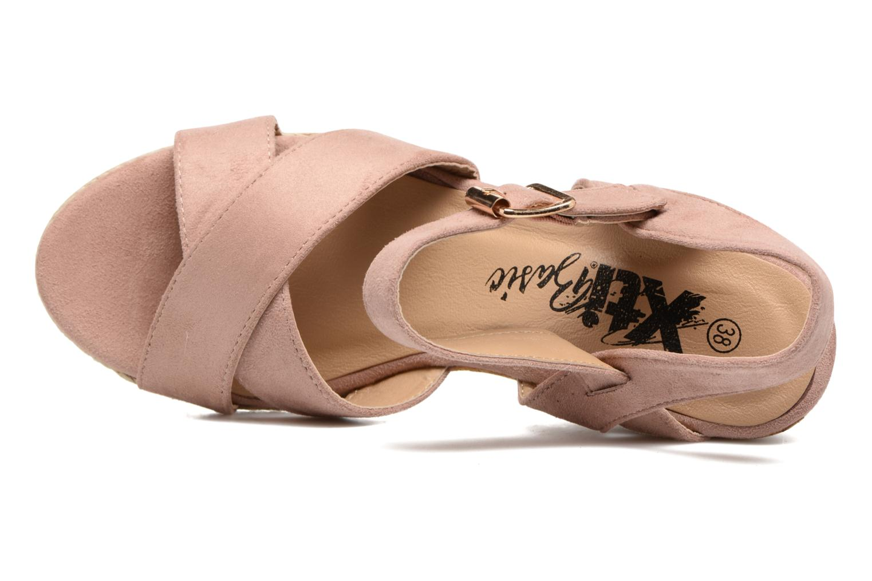 Sandales et nu-pieds Xti Issum 33450 Rose vue gauche