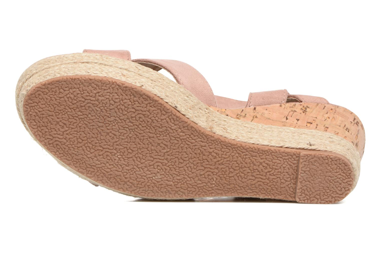 Sandales et nu-pieds Xti Issum 33450 Rose vue haut