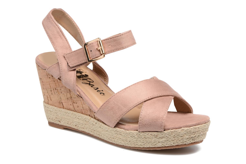 Sandales et nu-pieds Xti Issum 33450 Rose vue détail/paire