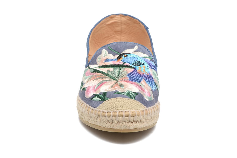 Espadrilles Kanna Aria Bleu vue portées chaussures
