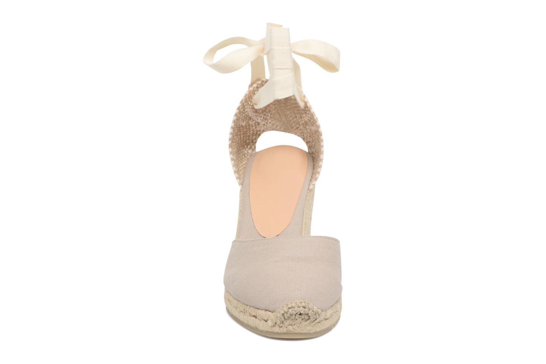 Espadrilles Castaner Carina H8 Gris vue portées chaussures