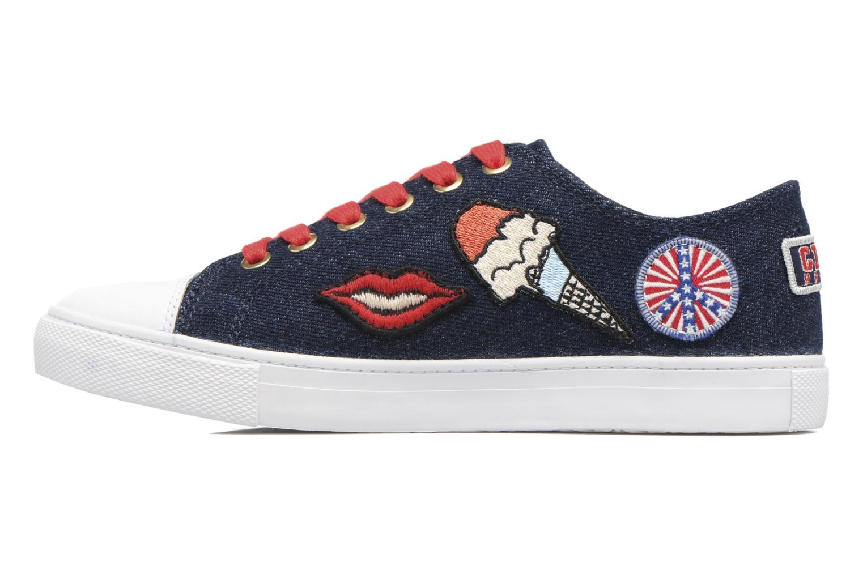 Baskets Tommy Hilfiger Low lace Sneaker Gigi Hadid 1C Bleu vue face