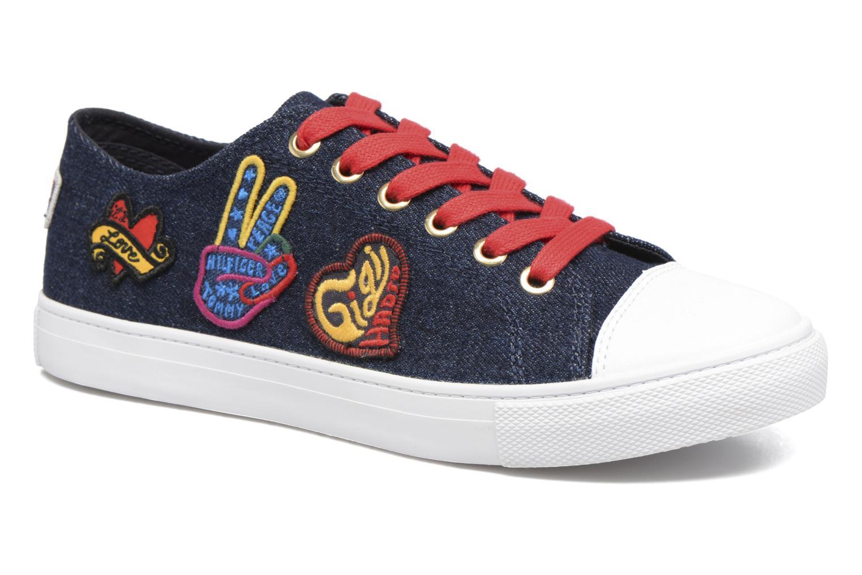 Grandes descuentos últimos zapatos Tommy Hilfiger Low lace Sneaker Gigi Hadid 1C (Azul) - Deportivas Descuento