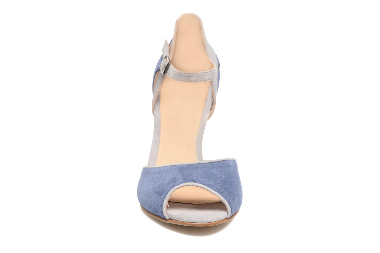 Sandales et nu-pieds Perlato Aladéa Bleu vue portées chaussures