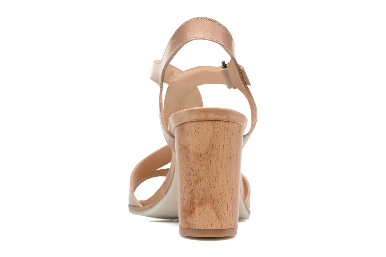Sandales et nu-pieds Perlato Lubia Beige vue droite