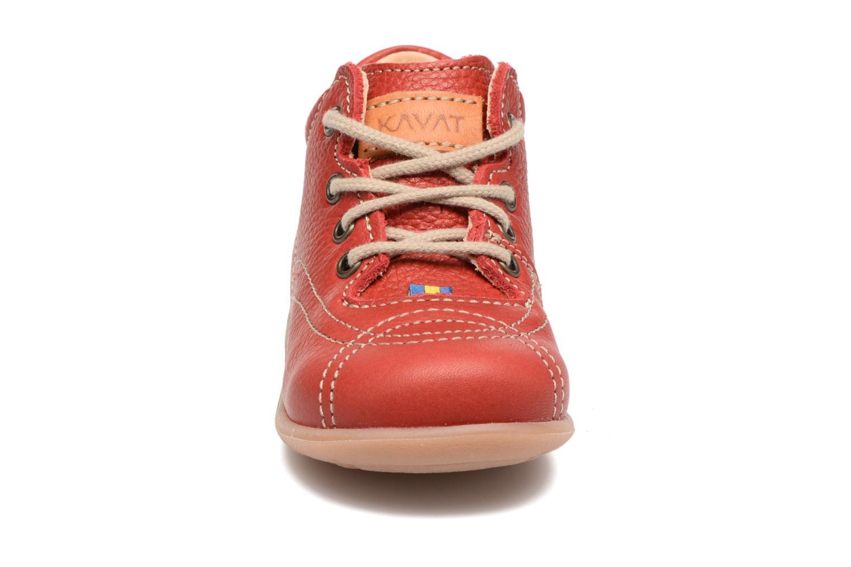 Bottines et boots Kavat Edsbro EP Rouge vue portées chaussures