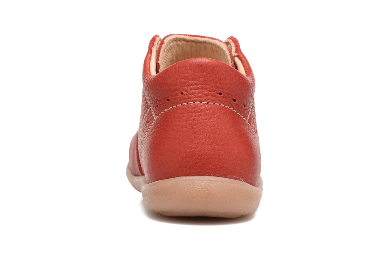 Bottines et boots Kavat Edsbro EP Rouge vue droite