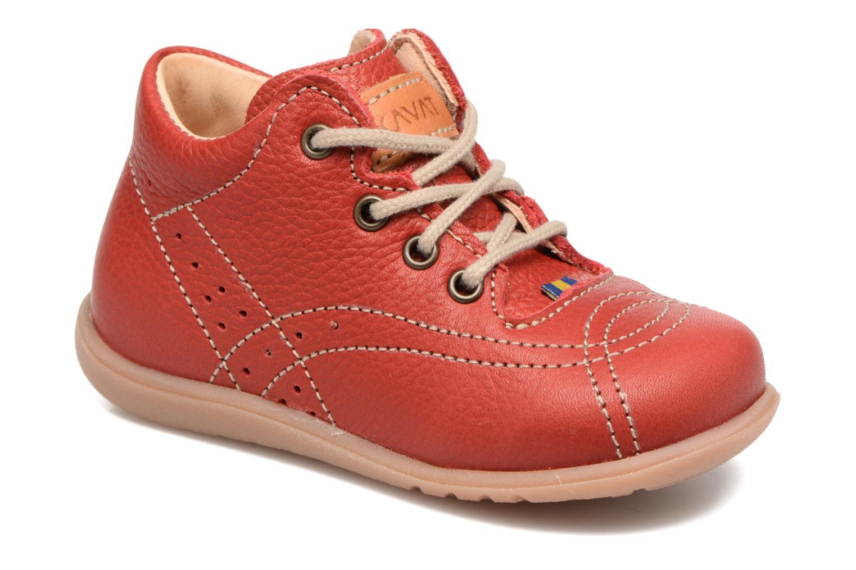 Bottines et boots Kavat Edsbro EP Rouge vue détail/paire